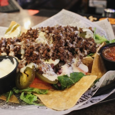 Fully Loaded Nachos or Fries